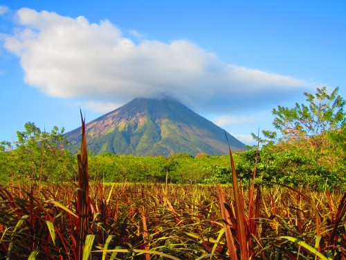 Concepcion Volcano on La Isla Ometepe