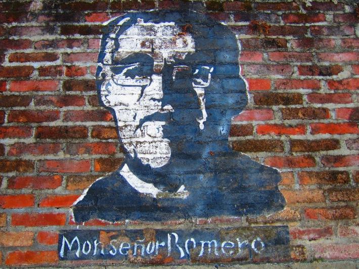Monsignor Romero mural