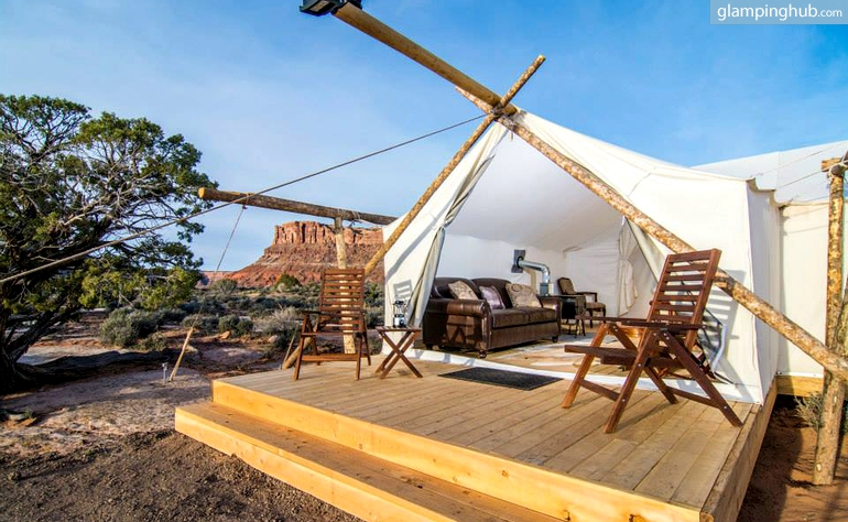 Glamping: Nature staycation combined with comfort